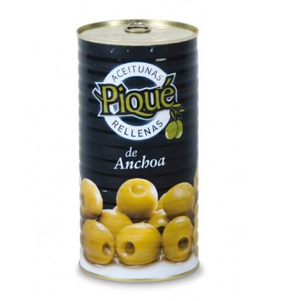 Aceitunas rellenas anchoa Pique 150gr