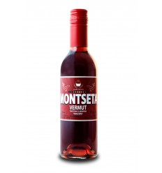 Botellín Vermut Montseta Rojo 375ml.