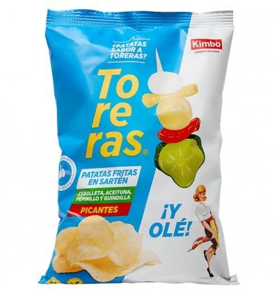 Patatas Fritas Toreras 120gr - Sabor Banderilla Picante