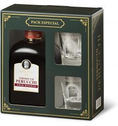 Pack Perucchi Botella y 2 vasos