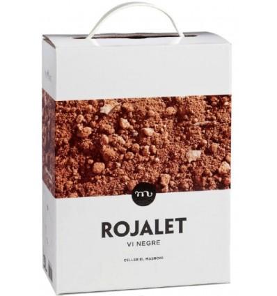 Bag in Box 3 lts Rojalet Negro - Montsant Vino Granel