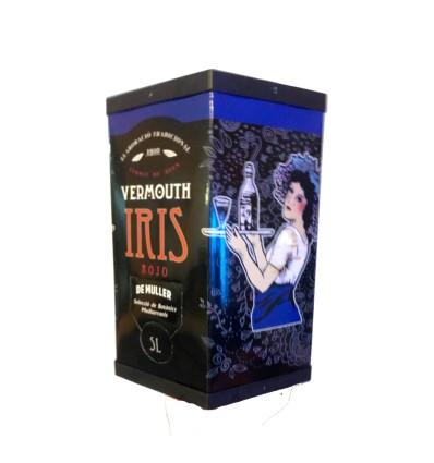 Bag in Box 5 litros Iris Rojo