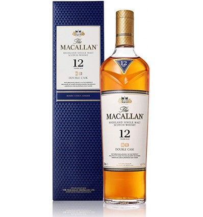 Whisky Macallan 12 años doible cask single Malt