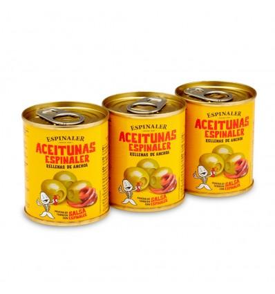Aceitunas Espinaler Pack 3 de 5gr