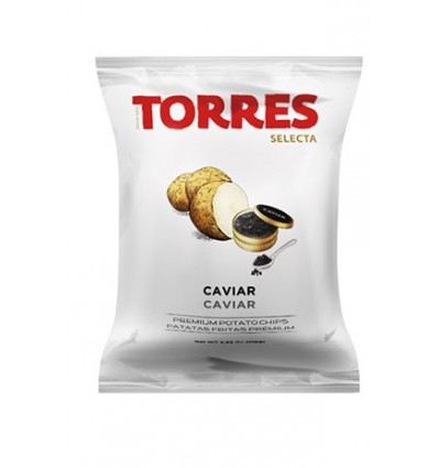 Patatas Torres Selecta - Caviar 40gr