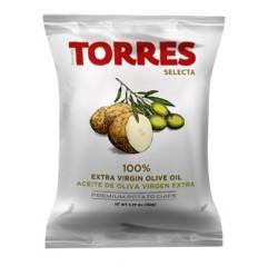 Patatas Fritas Selecta - Aceite de oliva 50gr