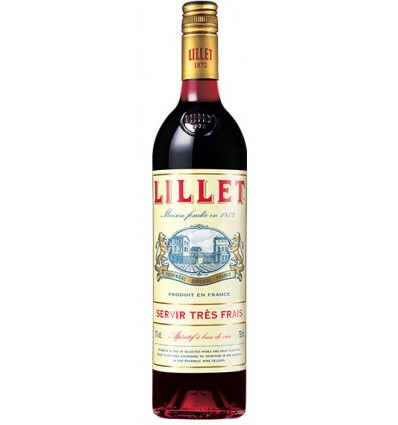 Vermouth Lillet Rouge - Rojo