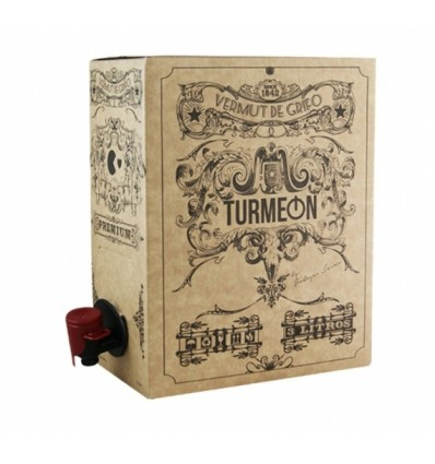 Vermouth Turmeon Blanco Bag in Box