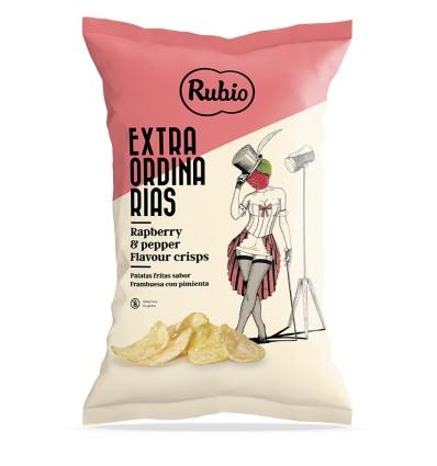 Patatas extraordinarias Rubio Frambuesa y Pimienta