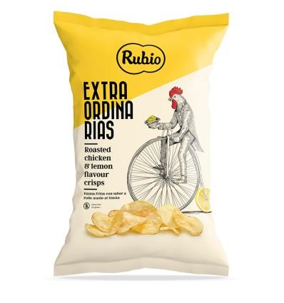 Patatas extraordinarias Rubio pollo al limón