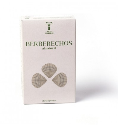 Berberechos al Natural 25/35 Islas Gallegas