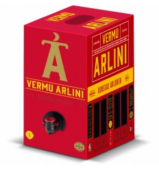Vermut Arlini negro 3 lts Bag in box