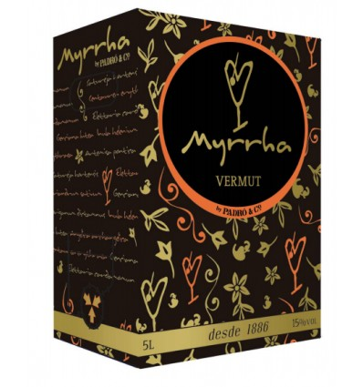 Bag in Box Vermut Myrrha Rojo 5 litros