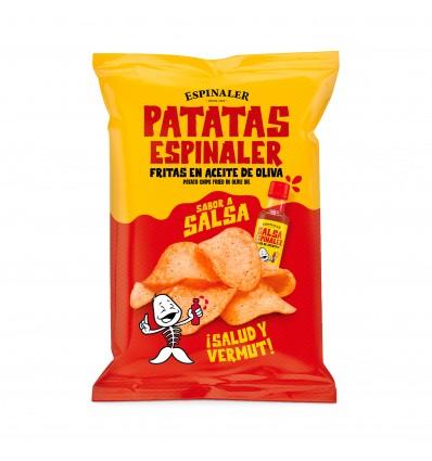 Patatas fritas Espinaler con Salsa Espinaler 50gr