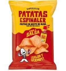 Patatas fritas espinaler con Salsa Espinaler 125gr