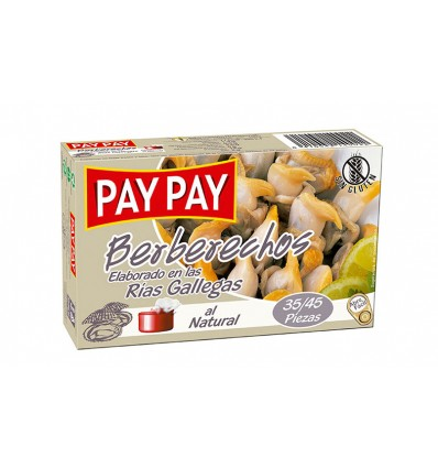 Berberechos Pay Pay 34/45 al natural