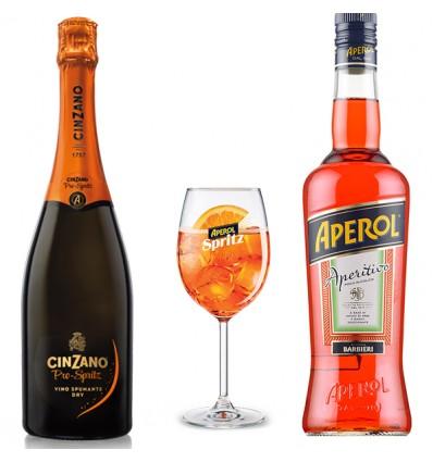 Pack Aperol Spritz + Cinzano Pro-Spritz Dry