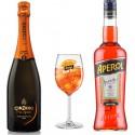 Pack Aperol Spritz + Cinzano Pro-Spritz Dry + 1 Copa Aperol Spritz