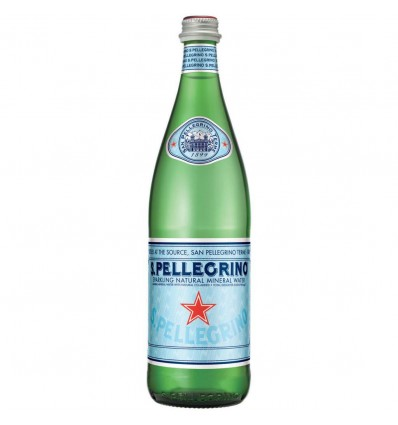 San Pellegrino 75 cl - cristal - agua con gas