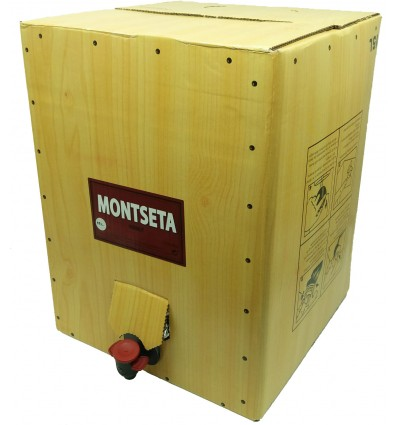 Bag in Box de Vermut Montseta 15 litros Negro