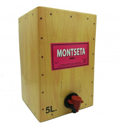 Bag in Box Vermut Montseta Rosado 15lts.