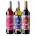 Pack Colección Vermut Montseta 3 Botellas