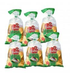 Caja 6 unidades Patatas Extragruesas Rubio 900gr