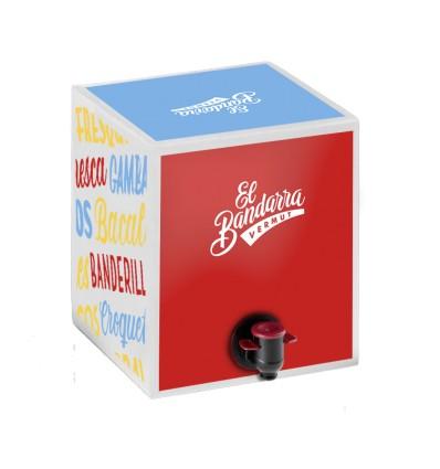 Bag in Box Vermut El Bandarra 5 litros rojo