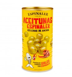 Aceitunas Rellenas Anchoa Espinaler 2Kg