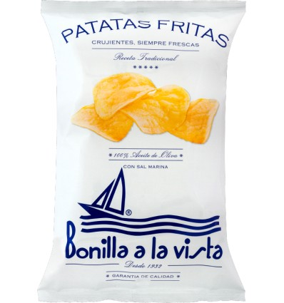 Bolsa de Patatas Bonilla a la vista 150gr