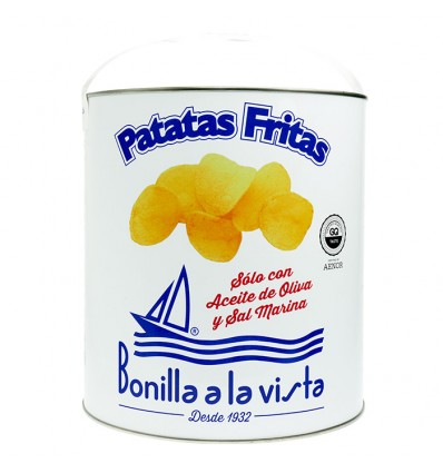 Lata de Patatas Bonilla a la vista 300gr