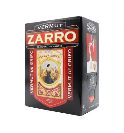 Bag In Box Vermut Zarro Rojo 3 lts